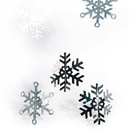 Guirlande flocons de neige