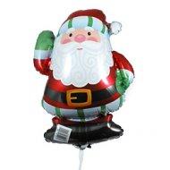 Ballon sur tige Père Noël
