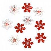 Flocons de neige bois