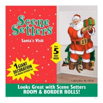 Scène décorative Père Noël