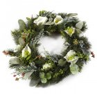 Couronne Sapin Polaire (38 cm) - Artificiel
