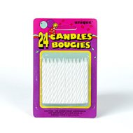 Bougies blanches