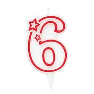 Bougie ''6''
