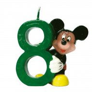 Bougie Mickey ''8'' ans