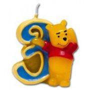 Bougie Winnie ''3'' ans