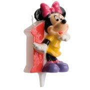 Bougie Minnie 1 an