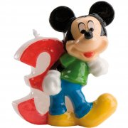 Bougie Mickey 3 ans