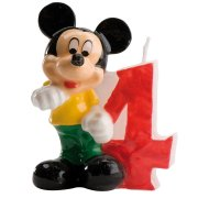 Bougie Mickey 4 ans