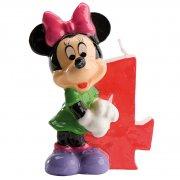Bougie Minnie 4 ans