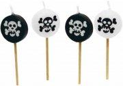 Bougies pirates à piquer