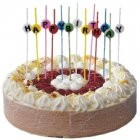 Bougies stick Happy birthday