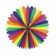 1 Fleur Rainbow à suspendre XXL