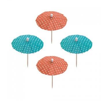 10 pics ombrelles à pois