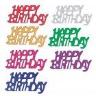 Confettis Happy birthday