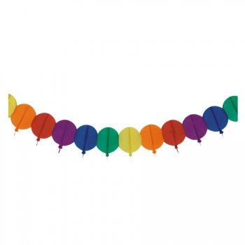 Guirlande Ballons Rainbow (4 m) - Papier