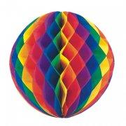 1 Boule Rainbow 3D alv�ol�e