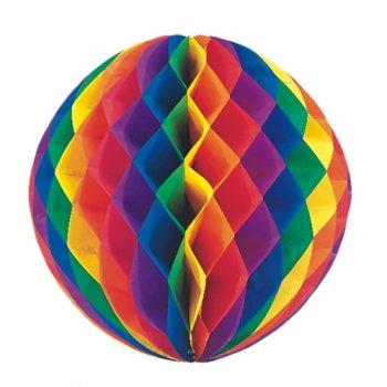 1 Grande boule Rainbow 3D alvéolée