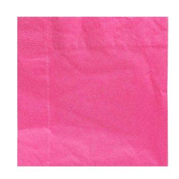 20 serviettes roses