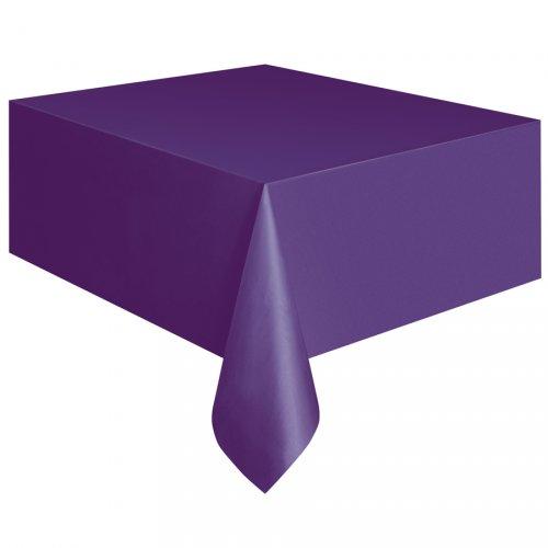 Nappe Unie Violet - Plastique