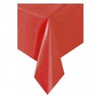 Nappe Unie Rouge - Plastique