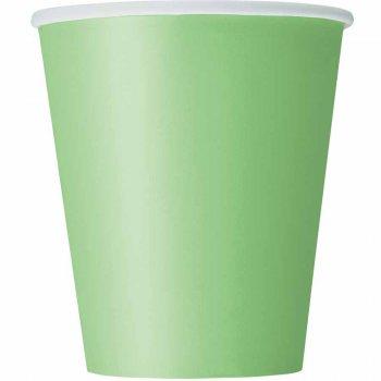 8 Gobelets Vert