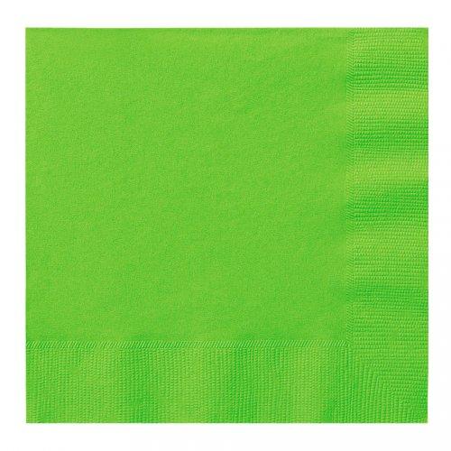 20 serviettes vertes