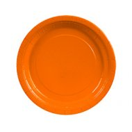 8 Assiettes Orange