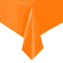 Nappe Unie Orange - Plastique