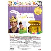 4 couronnes de princesses à décorer