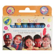 6 gros Crayons � maquillage