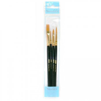 Set de 4 pinceaux maquillage