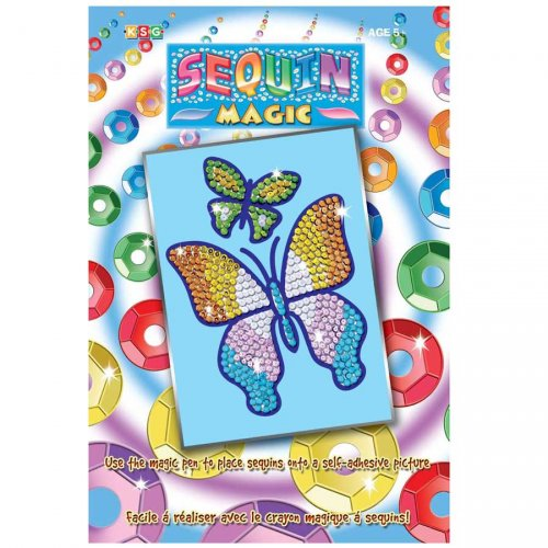 Sequin magic Papillons