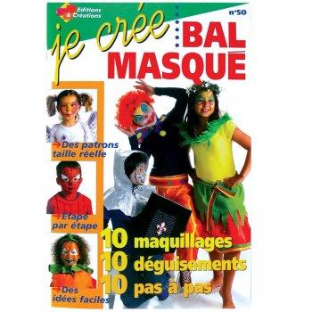 """Livre """"Je crée un Bal masqué"""""""