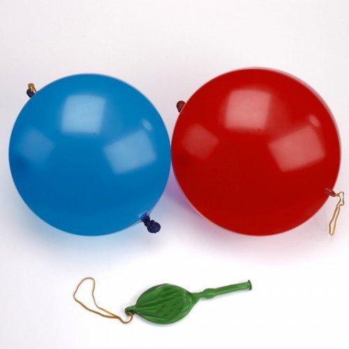 3 Ballons Punchball Rouge/Bleu/Jaune