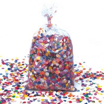 Sac de 1kg de Confettis Multicolores Traditionnels