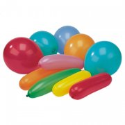 20 Ballons assortis