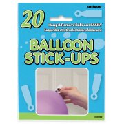 20 sticks-up pour ballons