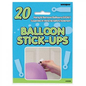 20 sticks-up pour ballons