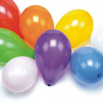 100 Ballons assortis 28 cm