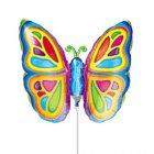 Ballon sur Tige Papillon