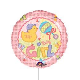 Ballon sur Tige Baby Girl