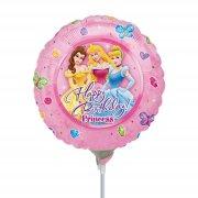 Ballon sur Tige Princesses Disney Happy Birthday