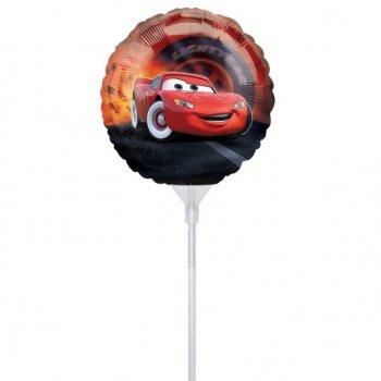 3 Ballons sur Tige Cars
