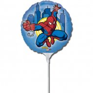3 Ballons sur Tige Spiderman