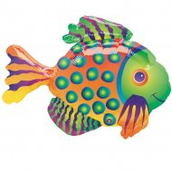 Ballon sur Tige Poisson tropical