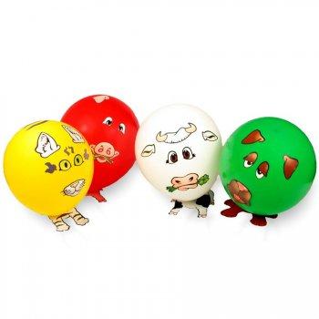5 ballons à décorer avec stickers