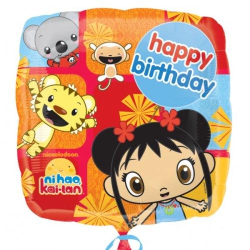 Ballon à Plat Ni Hao Kai-lan
