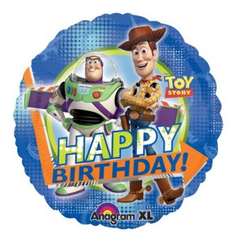 Ballon Mylar Toy Story Happy Birthday