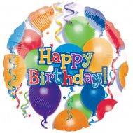 Ballon Hélium Happy Birthday Ballons