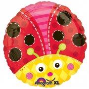 Ballon H�lium Coccinelle
